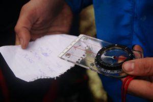 Notater og kompass