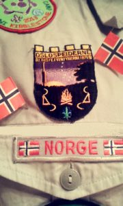 Speiderskjorte Oslospeiderne
