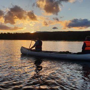 7. Oslo Kano i solnedgang