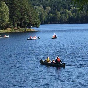 Bølere i kanoer