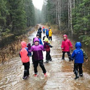 7. Oslo småspeider på vei overfylt av vann storkoser deg
