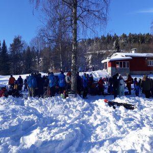 7. Oslo samles i snøen