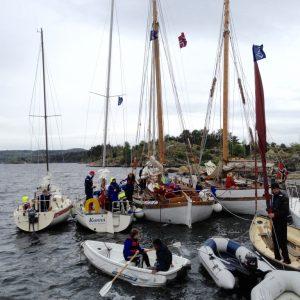 Bestum sjøspeiderne sine båter