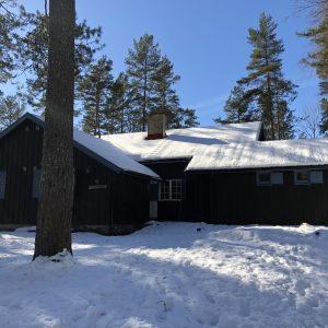 Blåhaug vinterstid