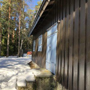 Uteområde Blåhaug bak huset
