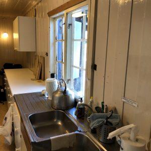 Blåhaug kjøkkenbenk